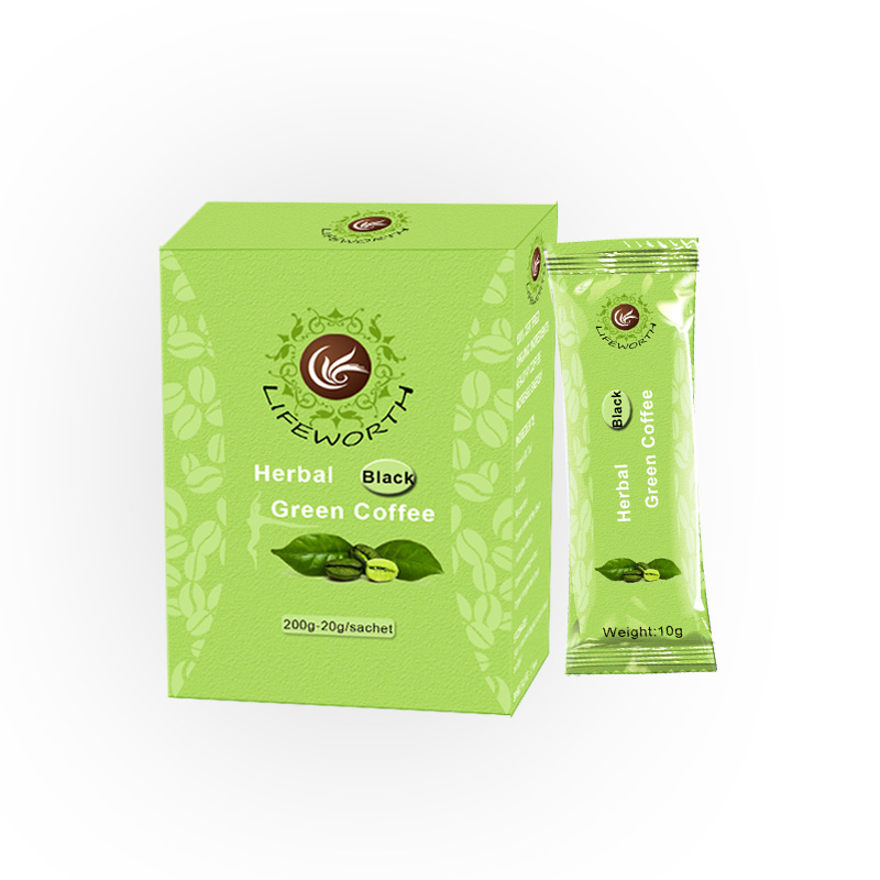 Lifeworth weight loss green coffee with herbal extract