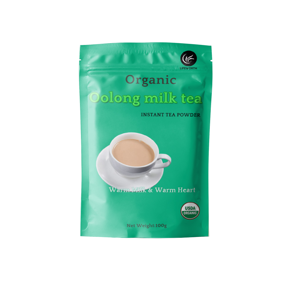 Lifeworth decaf instant oolong milk tea