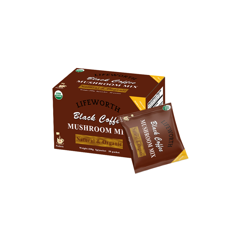 Lifeworth organic mushroom coffee mix with chaga wholesale