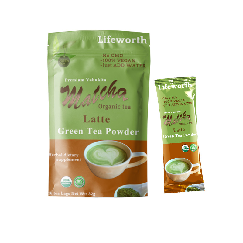 Lifeworth organic ceremonial matcha tea