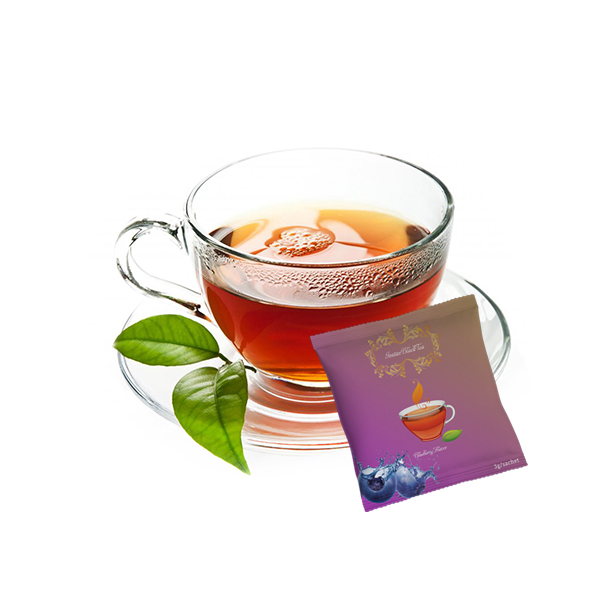 Lifeworth fruit black tea powder weight loss