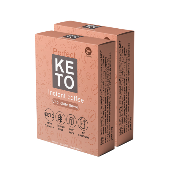 Lifeworth instant keto coffee with herbal extract