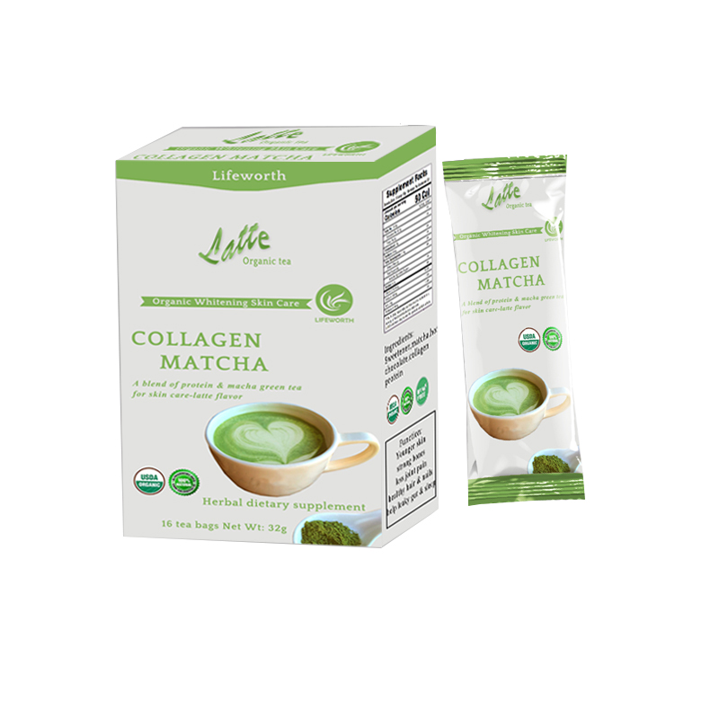 Lifeworth collagen matcha private label