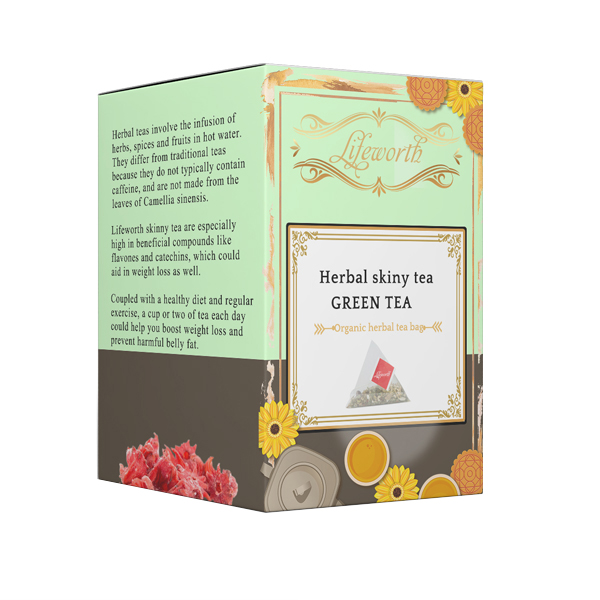 Lifeworth herbal skinny detox lemon tea bag supplier