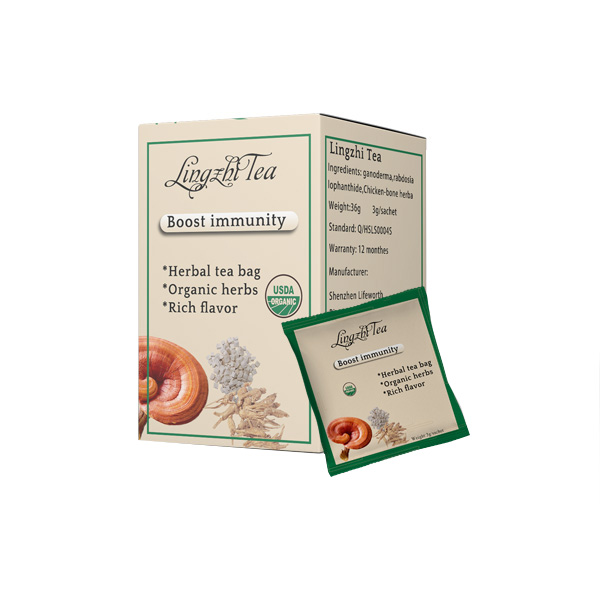 Lifeworth herbal mushroom reishi tea drink mix